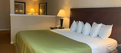 Executive King Room - Pacific Inn & Suites, Kamloops